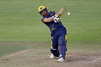 Graham Wagg hits 4 runs for Glamorgan during Glamorgan vs Essex Eagles, Vitality Blast T20 Cricket at the Sophia Gardens Cardiff on 7th August 2018