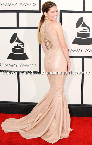 Pictured: Skylar Grey<br /> Mandatory Credit &copy; Adhemar Sburlati/Broadimage<br /> The Grammy Awards  2014 - Arrivals<br /> <br /> 1/26/14, Los Angeles, California, United States of America<br /> <br /> Broadimage Newswire<br /> Los Angeles 1+  (310) 301-1027<br /> New York      1+  (646) 827-9134<br /> sales@broadimage.com<br /> http://www.broadimage.com