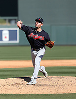 Nick Wittgren - Cleveland Indians 2020 spring training (Bill Mitchell)