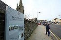 SPECIAL BREXIT FEA ON ANTRIM AND SDC TRAILERS FOR Arthur Beesley  - 9/1/2019 : All Saints Presbyterian Church in Antrim town, County Antrim, Northern Ireland. Presbyterianism is a part of the reformed tradition within Protestantism which traces its origins to Britain, particularly Scotland. Presbyterian churches derive their name from the presbyterian form of church government, which is governed by representative assemblies of elders  Antrim town, County Antrim, Northern Ireland.-  Photo/Paul McErlane
