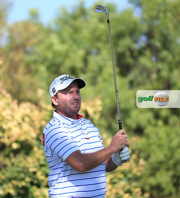 Jean Hugo (RSA) in action during the completion of Round Two of the 2016 BMW SA Open hosted by City of Ekurhuleni, played at the Glendower Golf Club, Gauteng, Johannesburg, South Africa.  09/01/2016. Picture: Golffile | David Lloyd<br /> <br /> All photos usage must carry mandatory copyright credit (&copy; Golffile | David Lloyd)