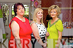 Pictured at the Enable Ireland Ladies Luncheon in the Earl of Desmond Hotel, Tralee on Friday, from left: Eileen Lenihan (Knocknagoshel), Noreen Cremins (Knocknagoshel) and Niamh Smith (Tralee)..