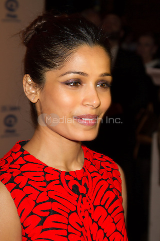 Freida Pinto attending the 25 years Plan International Deutschland e.V.(german children help organisation) charity gala held at Fischauktionshalle, Hamburg, Germany, 01.03.2014. <br /> Photo by Christopher Tamcke/insight media /MediaPunch ***FOR USA ONLY***