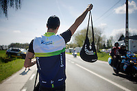 musettes at the ready<br /> <br /> 55th Brabantse Pijl 2015
