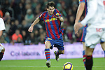 Football Season 2009-2010. Barcelona's player Lionel Messi during their spanish liga soccer match at Camp Nou stadium in Barcelona. January 16, 2010.