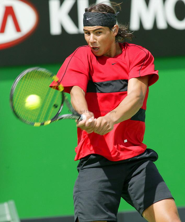 Rafael Nadal, Australian Tennis Open 2004, Melbourne, Australia