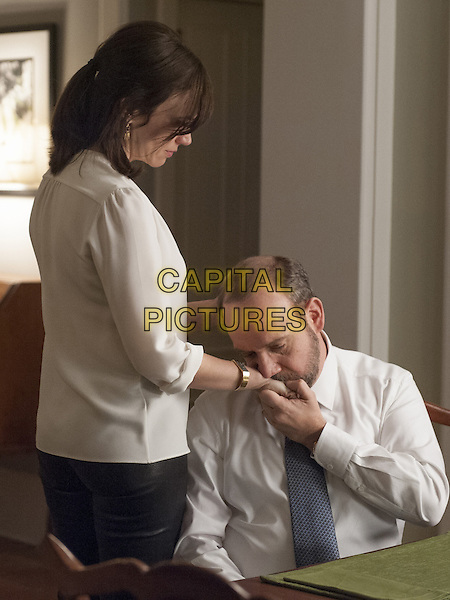 Billions  (2016-)<br /> (Season 1)<br /> Maggie Siff as Wendy Rhoades and Paul Giamatti as Chuck Rhoades<br /> *Filmstill - Editorial Use Only*<br /> CAP/FB<br /> Image supplied by Capital Pictures