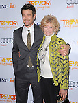 Josh Duhamel and mom at Trevor Live At The Hollywood Palladium in Hollywood, California on December 04,2011                                                                               © 2011 Hollywood Press Agency