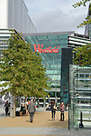Westfield Stratford City shopping centre Chestnut Plaza, London, England