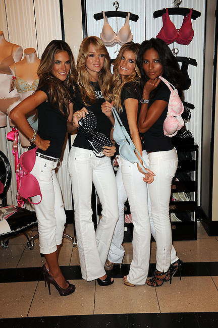 WWW.ACEPIXS.COM . . . . . ....August 11 2009, New York City....Models Alessandra Ambrosio, Lindsay Ellingson, Marisa Miller and Emanuela de Paula celebrate the Victoria's Secret 10-year anniversary of The Body By Victoria Collection at Victoria's Secret Herald Square on August 11, 2009 in New York City....Please byline: KRISTIN CALLAHAN - ACEPIXS.COM.. . . . . . ..Ace Pictures, Inc:  ..tel: (212) 243 8787 or (646) 769 0430..e-mail: info@acepixs.com..web: http://www.acepixs.com