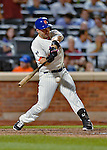 24 July 2012: New York Mets third baseman David Wright in action against the Washington Nationals at Citi Field in Flushing, NY. The Nationals defeated the Mets 5-2 to take the second game of their 3-game series. Mandatory Credit: Ed Wolfstein Photo