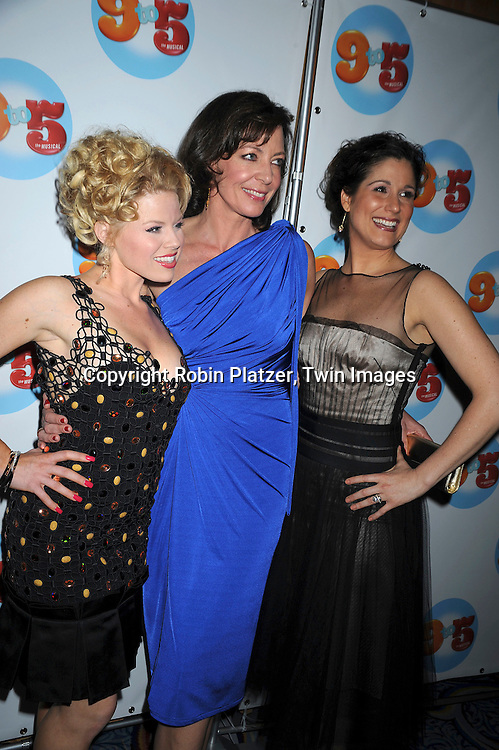 Megan Hilty, Allison Janney & Stephanie J Block