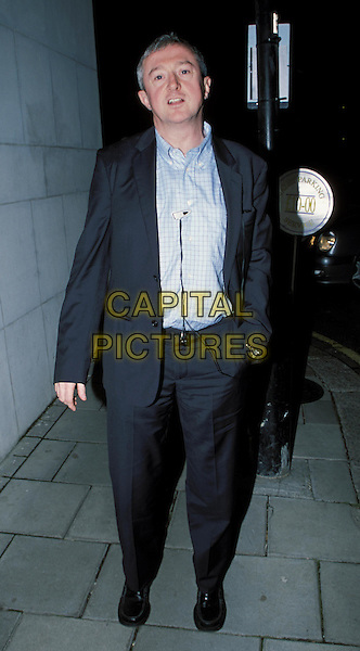 Popstars: The rivals judge LOUIS WALSH.attends Westlife's album launch party at Zuma Bar.sales@capitalpictures.com.www.capitalpictures.com.©Capital Pictures.reality tv