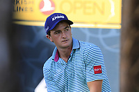 Paul Dunne (IRL) on the 4th tee during Saturday's Round 3 of the 2018 Turkish Airlines Open hosted by Regnum Carya Golf &amp; Spa Resort, Antalya, Turkey. 3rd November 2018.<br /> Picture: Eoin Clarke | Golffile<br /> <br /> <br /> All photos usage must carry mandatory copyright credit (&copy; Golffile | Eoin Clarke)