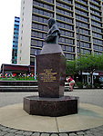 Statue of Joseph Cardinal Mindszenty in Cleveland, Ohio.