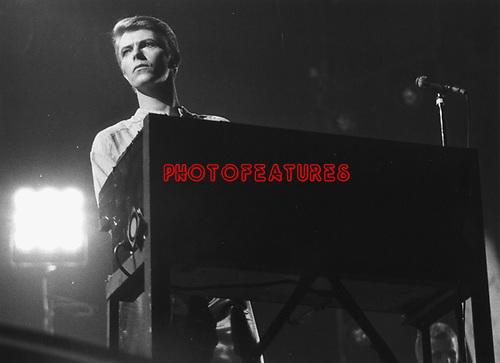 David Bowie 1978<br /> &copy; Chris Walter