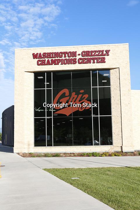 The new Washington-Grizzly Champions Center, University of Montana, Missoula