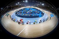Womens points race. Cycling, Commonwealth Games, Gold Coast, Australia. Saturday, 7 April, 2018. Copyright photo: John Cowpland / www.photosport.nz /SWpix.com - general view of velodrome