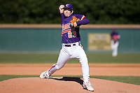 Justin Sarratt (23) of the Clemson Tigers in action versus the Wake Forest Demon Deacons during the second game of a double header at Gene Hooks Stadium in Winston-Salem, NC, Sunday, March 9, 2008.