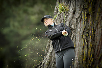Amelia Garvey during Jennian Homes Charles Tour, John Jones Steel Harewood Open, Harewood Golf Course, Christchurch, New Zealand, Thursday 5 October 2017.  Photo: Martin Hunter/www.bwmedia.co.nz