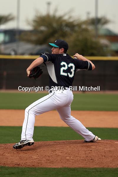 Matt Anderson - Seattle Mariners 2016 spring training (Bill Mitchell)