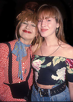 Betsey Johnson and Lulu Johnson 1980<br /> Photo By Adam Scull/PHOTOlink.net /MediaPunch