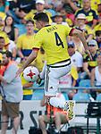 Colombia's Santiago Arias during international friendly match. June 13,2017.(ALTERPHOTOS/Acero)