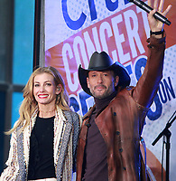 Tim McGraw And Faith Hill On NBC's Today Show