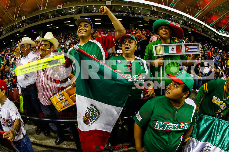 Ambiente, durante el partido de beisbol de la Serie del Caribe entre Mexico vs Venezuela en el Nuevo Estadio de los Tomateros en Culiacan, Mexico, Viernes 3 Feb 2017. Foto: Luis Gutierrez/NortePhoto.com.<br /> <br /> <br /> Actions during the baseball game of the Caribbean Series between Mexico vs Venezuela at the New Tomateros Stadium in Culiacan, Mexico, Friday 3 Feb 2017. Photo: Luis Gutierrez / NortePhoto.com.