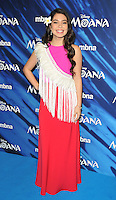 Auli&rsquo;i Cravalho at the &quot;Moana&quot; gala film screening, BAFTA, Piccadilly, London, England, UK, on Sunday 20 November 2016.<br /> CAP/CAN<br /> &copy;CAN/Capital Pictures /MediaPunch ***NORTH AND SOUTH AMERICAS ONLY***