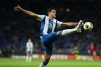 7th November 2019; RCDE Stadium, Barcelona, Catalonia, Spain; UEFA Europa League Football, Real Club Deportiu Espanyol de Barcelona versus PFC Ludogorets Razgrad;  Bernardo Espinosa reaches for the loose ball - Editorial Use