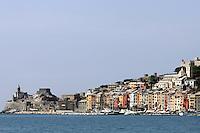 Una veduta di Porto Venere.<br /> A view of Porto Venere.<br /> UPDATE IMAGES PRESS/Riccardo De Luca