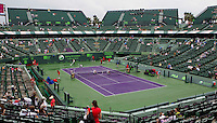 Rain stops play in Miami..International Tennis - 2010 ATP World Tour - Sony Ericsson Open - Crandon Park Tennis Center - Key Biscayne - Miami - Florida - USA - Fri 26 Mar 2010..© Frey - Amn Images, Level 1, Barry House, 20-22 Worple Road, London, SW19 4DH, UK .Tel - +44 20 8947 0100.Fax -+44 20 8947 0117