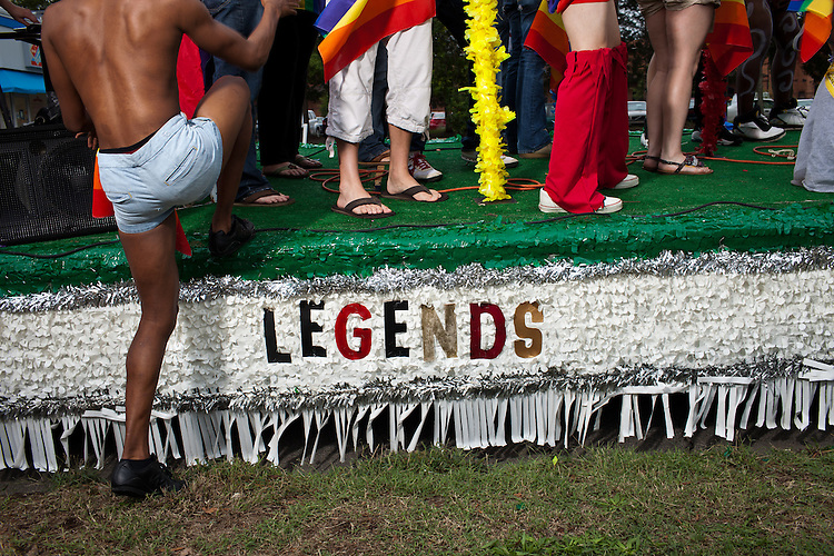 Legends Nightclub at the 27th annual N.C. PRIDE parade in Durham, NC, Saturday, September 24, 2011.