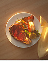 Prime Rib Dinner Plate