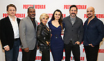 Jason Danieley, Kingsley Leggs, Orfeh, Samantha Barks, Steve Kazee and Eric Anderson attends the photo call for the New Broadway Bound Musical 'Pretty Woman' on January 22, 2018 at the New 42nd Street Studios in New York City.