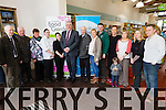 Pictured at the Munster food and Garden show launch held in D+M Garden centre Croagh on Tuesday the 24th February. Pictured L-R: Dermot Guiltenane, D+M Garden Centre, Thomas and Marie Guiltenane, Patrickswell, Eileen Gaffney, D+M Garden Centre, Linda Madigan, D+M Garden Centre, Deputy Tom Hayes, Minister of state at the department of Agriculture, food and marine, Seamus and Mary Guiltenane, Croagh, David Mooney, Anna pychynska, D+M Garden Centre, Liadh, Marian, Mags and Tom Guiltenane, D+M Garden Centre.