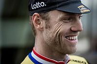 Lars Boom (NED/Lotto Jumbo) pre race. <br /> <br /> <br /> Binckbank Tour 2018 (UCI World Tour)<br /> Stage 2: ITT Venray (NL) 12.7km