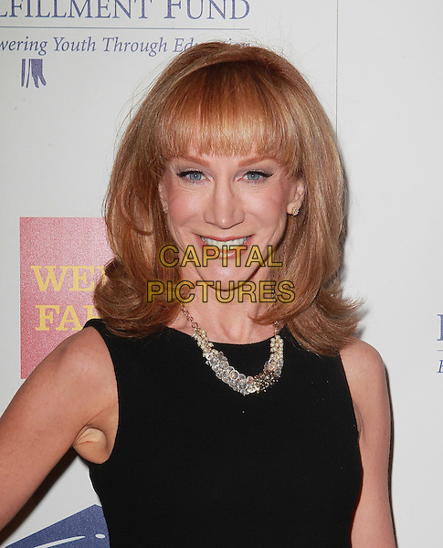 Kathy Griffin.Fulfillment Fund Stars Gala Held At The Beverly Hilton Hotel, Beverly Hills, California, USA..October 24th, 2012.headshot portrait necklace black sleeveless  .CAP/ADM/KB.©Kevan Brooks/AdMedia/Capital Pictures.