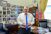 United States Representative Peter T. King (Republican of New York) is interviewed in his Capitol Hill office in Washington, DC on Thursday, November 14, 2019.<br /> Credit: Ron Sachs / CNP<br /> (RESTRICTION: NO New York or New Jersey Newspapers or newspapers within a 75 mile radius of New York City)