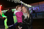 Celtic Manor Resort Christmas Kingdom 2014<br /> Cath &amp; Imogen Foulds.<br /> 29.11.14<br /> &copy;Steve Pope -FOTOWALES