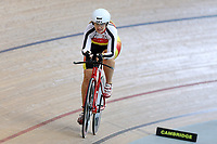 Nicola Stevens of Southland competes in the Masters Women 3 2000m at the Age Group Track National Championships, Avantidrome, Home of Cycling, Cambridge, New Zealand, Thurssday, March 16, 2017. Mandatory Credit: © Dianne Manson/CyclingNZ  **NO ARCHIVING**