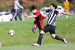 NELSON, NEW ZEALAND - SEPTEMBER 7:  FC Nelson V Blenheim for the Harris Cup on September 7 at Saxton Field  2018 in Nelson, New Zealand. (Photo by: Evan Barnes Shuttersport Limited)