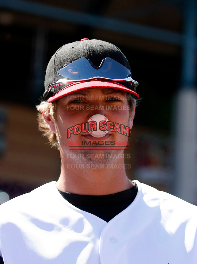 Cory Luebke  ---  At the annual California League-Carolina League all-star game at the Diamond in Lake Elsinore, CA - 06/23/2009. The game was won by the California League, 2-1, on a walk-off homerun by Lancaster's Jon Gaston..Photo by:  Bill Mitchell/Four Seam Images