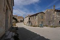 Isola di Pianosa.Pianosa Island.Pianosa. Il borgo.Village.