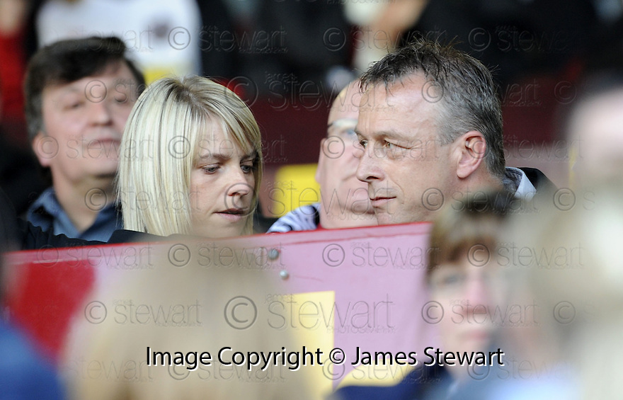 13/05/2008   Copyright Pic: James Stewart.File Name : sct_jspa06_gretna_v_hearts.FORMER GRETNA BOSS ROWAN ALEXANDER TAKES HIS SEAT IN THE STAND.James Stewart Photo Agency 19 Carronlea Drive, Falkirk. FK2 8DN      Vat Reg No. 607 6932 25.Studio      : +44 (0)1324 611191 .Mobile      : +44 (0)7721 416997.E-mail  :  jim@jspa.co.uk.If you require further information then contact Jim Stewart on any of the numbers above........