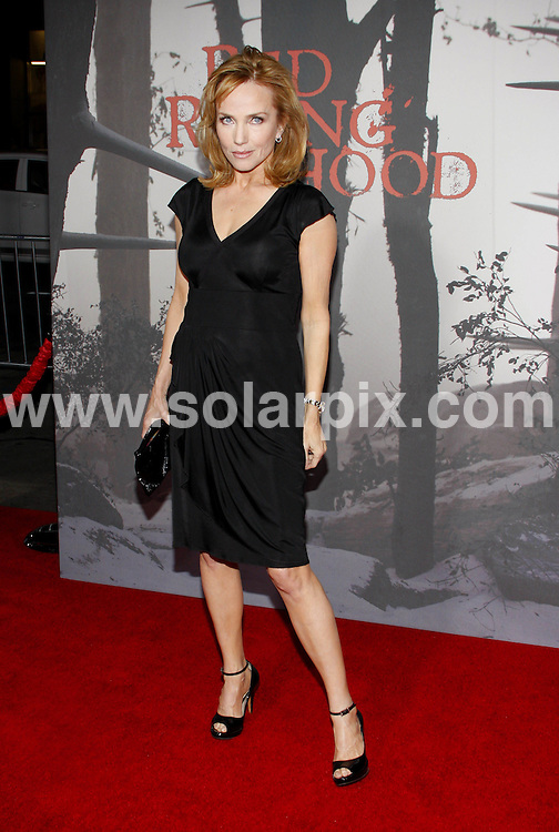 **ALL ROUND PICTURES FROM SOLARPIX.COM**                                             **SYNDICATION RIGHTS FOR UK, AUSTRALIA, DENMARK, PORTUGAL, S. AFRICA, SPAIN & DUBAI (U.A.E) & ASIA (EXCLUDING JAPAN) ONLY**                                                                                  Caption: arrivals at the Los Angeles Premiere of - Red Riding Hood - held at the Grauman's Chinese Theater - Hollywood, CA, USA. 7 March 2011                                                                         This pic: Rebecca DeMornay                                                                                    JOB REF: 12932 PHZ Gabber      DATE: 07_03_2011                                                          **MUST CREDIT SOLARPIX.COM OR DOUBLE FEE WILL BE CHARGED**                                                                      **MUST AGREE FEE BEFORE ONLINE USAGE**                               **CALL US ON: +34 952 811 768 or LOW RATE FROM UK 0844 617 7637**
