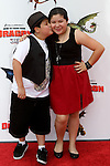 RICO RODRIGUEZ, RAINI RODRIGUEZ. Arrivals to the Los Angeles premiere of Dreamworks' How To Train Your Dragon at the Gibson Amphitheater. Universal City, CA, USA. March 21, 2010.