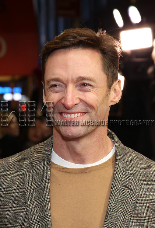 "Hugh Jackman attends the Broadway Opening Night Performance of ""To Kill A Mockingbird"" on December 13, 2018 at The Shubert Theatre in New York City."