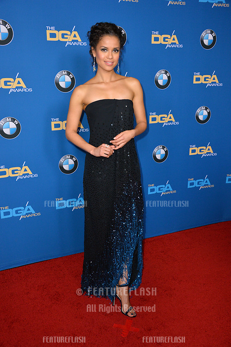 Gugu Mbatha-Raw at the 70th Annual Directors Guild Awards at the Beverly Hilton Hotel, Beverly Hills, USA 03 Feb. 2018<br /> Picture: Paul Smith/Featureflash/SilverHub 0208 004 5359 sales@silverhubmedia.com